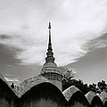 Ethereal Wat Suan Dok by Shaun Higson