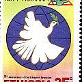 Ethiopia Stamp by Vladimir Berrio Lemm
