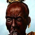 Ethiopian Elder 3 by Joel Thompson