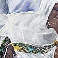 Ethiopian Orthodox Jewish Woman by Vannetta Ferguson