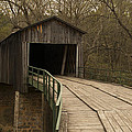 Euharlee Creek Covered Bridge by Mike Fitzgerald