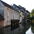Eure River And Old Fulling Mills In Chartres by RicardMN Photography