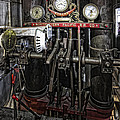 Eureka Ferry Steam Engine Controls - San Francisco by Daniel Hagerman