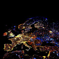 Europe At Night by Noaa/science Photo Library