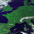 Europe From Above by Science Source