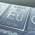 Europium Chemical Element by Science Picture Co