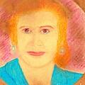 Eva Peron Orange by Ricardo Richard W Linford