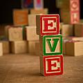 Eve - Alphabet Blocks by Edward Fielding