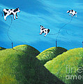 Even Cows Have Strange Dreams By Shawna Erback Art by Shawna Erback