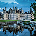 Evening At Chateau Chambord by Brian Jannsen