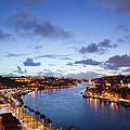 Evening At Douro River In Portugal by Artur Bogacki