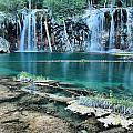 Evening At Hanging Lake by Adam Jewell