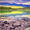 Evening At Lake Annette by Tara Turner