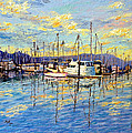 Evening At Sausalito by Francesca Kee