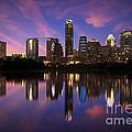 Evening Blue Austin by Randy Smith