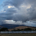 Evening Clouds Over Ashland Farm Country by Mick Anderson