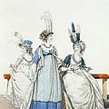 Evening Dresses For The Opera by Nicolaus von Heideloff