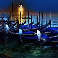 Evening Gondola by Cary Shapiro