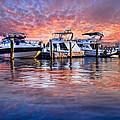 Evening Harbor by Debra and Dave Vanderlaan