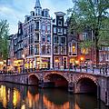 Evening In Amsterdam by Artur Bogacki