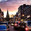 Evening In Annapolis by Olivier Le Queinec