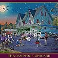 Evening In Campton Village by Nancy Griswold