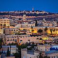 Evening In Jerusalem by Alexey Stiop