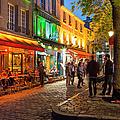 Evening In Montmartre by Brian Jannsen