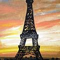 Evening In Paris by Laura Herzog