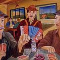 Evening In The Pub by Mihai Dascalu