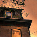 Evening Light On Old House by Jill Battaglia