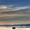Evening Light On The Salish Sea by Randy Hall