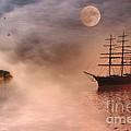 Evening Mists by John Edwards