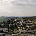 Evening On Stanage Edge by Kevin Round