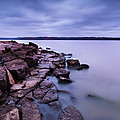Evening On Tuttle Creek Lake In Kansas by Tommy Brison