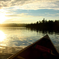 Evening Paddle by John Meader