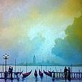 Evening Romance - Venice by Tony Gittins
