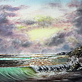 Evening Seashore by Joseph Maul