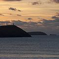 Evening Skies At Polzeath by Bel Menpes