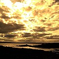 Evening Sky by Ann Fogarty