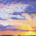 Evening Sky by Diana Hrabosky