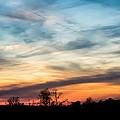 Evening Sky by Jan M Holden