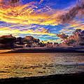 Evening Sky Over Molokai by Bill Dodsworth