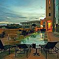 Evening Swim by Gary Wonning