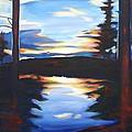 Evening View by Sheila Diemert