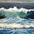 Evening Wave by Keith Wilkie