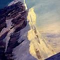 Everest-southeast Ridge by Tom Siebert