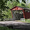 Everett Rd Covered Bridge by Dale Kincaid