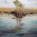 Everglade Palms by Jan Ellen Atkielski
