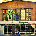 Evergreen Yonge St  Scenes Building A Better Toronto One Person At A Time Community Center Cspandau by Carole Spandau